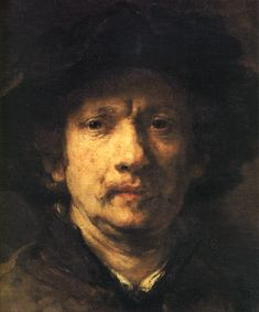rembrandt art   1632 Rembrandt Autoportrait aux mains sur les hanches Self-portrait ...