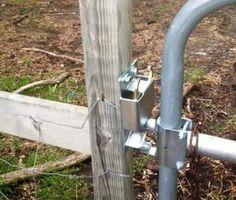 Ingenious Metal Gate Code Lock And Stanley Best Iron Gate