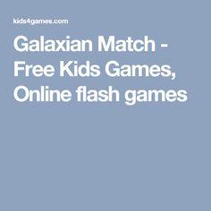 Galaxian Match - Free Kids Games, Online flash games