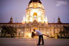 pasadena city hall photography