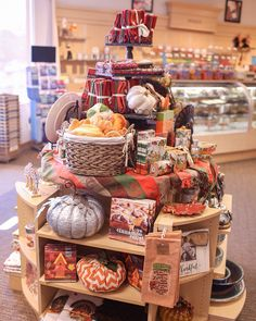 Fall decor from Bobbi's Hallmark