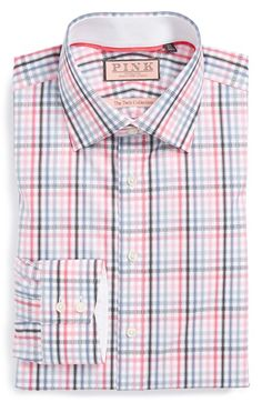 Thomas Pink 'The Twins Collection' Regular Fit Dress Shirt