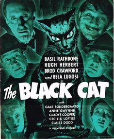 The 1941 version of THE BLACK CAT is more of an old dark house movie.