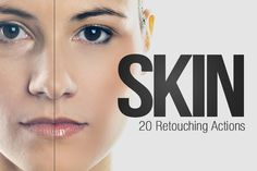 20 Retouching Actions for Photoshop by SparkleStock on Creative Market