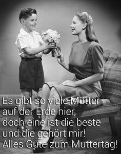 Die eigene Mutter sollte man natürlich nicht nur am Muttertag mit Liebe überschütten, denn auch an jedem anderen Tag im Jahr..