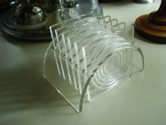 Vintage 1960s Clear Lucite Mad Men Barware by TheLastPixie, $20.00
