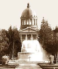 """State of Oregon Archives. State agency, legislative, local government and genealogical records for Oregon are searchable here. Try out the new collection of """"scenic county images"""" for some beautiful, fair-use images of our gorgeous state."""