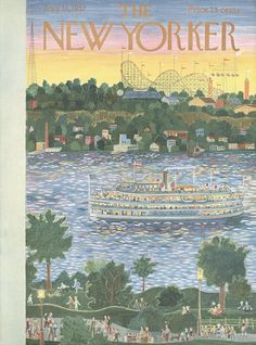 The New Yorker - Saturday, September 7, 1957 - Issue # 1699 - Vol. 33 - N° 29 - Cover by : Garrett Price