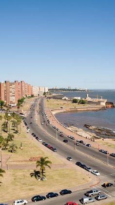 Rambla de Montevideo Uruguay