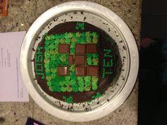 Joshua's birthday cake, and obsession. Minecraft Birthday Cake, 10 Birthday Cake, 10th Birthday, Birthday Ideas, Happy Holidays, Cake Ideas, Party, Kids, 10 Year Anniversary