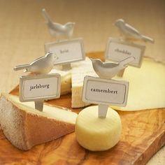 Bird Cheese Marker
