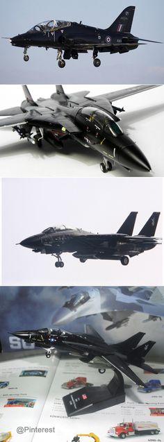 Grumman F-14 Tomcat Fighter Black Painting