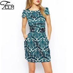 Bohemian Short Dress - Short Summer Dress