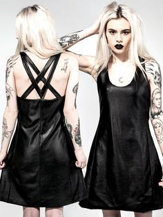 Dresses: Grunge and New Goth Frocks - Disturbia Clothing