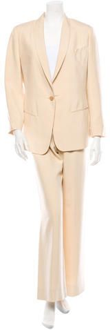 Jean Paul Gaultier Silk Pantsuit on shopstyle.com.au