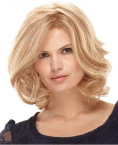 SHARE & Get it FREE | Charming Middle Part Fluffy Wavy Light Blonde Trendy…