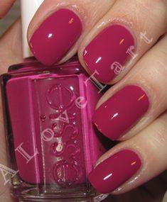 Essie Big Spender - the perfect Bright Winter sugarplum purple polish Essie Nail Polish Colors, Essie Colors, Nail Colors, Nail Polishes, Get Nails, How To Do Nails, Hair And Nails, Gorgeous Nails, Pretty Nails