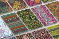 Ornamental seamless patterns @creativework247