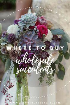 The DIY Bride's #1 resource for DIY wedding flowers Fabulous Florals Buy Bulk wholesale diy flowers here! www.fabulousflorals.com #weddingdecor #diywedding #diyflowers #weddingflowers #succulents