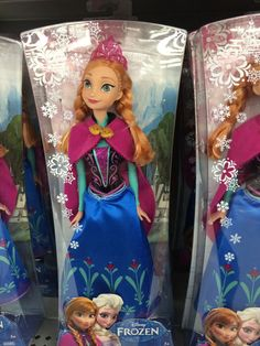 Disney Frozen Doll (B wants for Christmas - 2013)