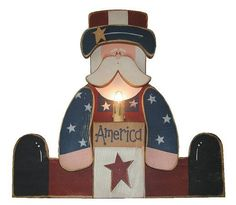 Wood Uncle Sam Pattern   Wood Crafts - Free Patterns - Woodcraft Patterns and Woodworking ...