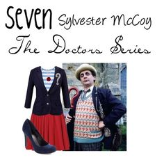 """""""Seventh Doctor: Sylvester McCoy: Doctor Who"""" by oswin-oswald ❤ liked on Polyvore featuring Reiss, Oasis, John Lewis and Retrò"""