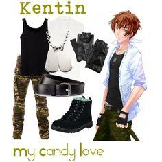 Kentin from My Candy Love by cardbeybrawl777 on Polyvore featuring Mode, Oscar de la Renta, Uniqlo, T.U.K., Carolina Amato, H&M and Loser Machine