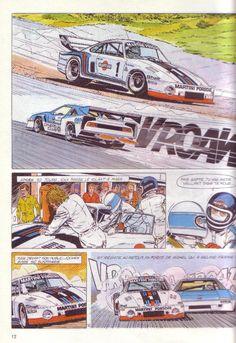 Comics Oldies: Michel Vaillant - Série noire, Jean Graton, 1973