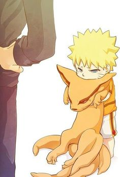 Can I keep him? Naruto and Kyuubi