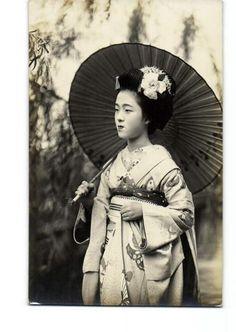 Tamakazu, célèbre Geisha.