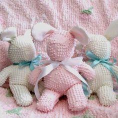 chenille bunnies