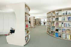 Librairie La Fontaine by Kawamura-Ganjavian, Switzerland