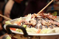 Thai Korean Style BBQ Aluminium Charcoal Grill Hot Pan 30cm.