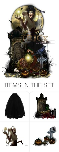 """""""👻Trick or Treat🎃"""" by cindu12 ❤ liked on Polyvore featuring art"""