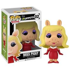 Miss Piggy Pop! Muppets – Vinyl Figure http://popvinyl.net #funko #funkopop #popvinyl