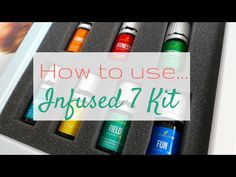 How to Use the Oola Infused 7 Kit - YouTube