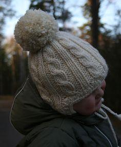 Ravelry: Halla - child's cabled hat pattern by Jonna Kolari 4 Kids, Children, Halle, Baby Hats, Baby Knitting, Ravelry, Winter Hats, Crochet, Pattern