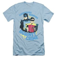 Batman Classic TV Courageous Slim Fit T-Shirt