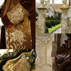 Beautiful Pictures with a English, Victorian, Scottish and Irish twist fashion beige lace manor silver.  www.ouwbollig.eu  https://www.facebook.com/ouwbollig.eu