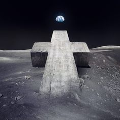 """Here is the new cover artwork made by our studio for the new single of Justice """"Newlands"""".    Art Direction : Adrien Blanchat & Charlotte Delarue @ Surface to Air  Model Making : Serge Stephan  Photograph : Raphaël Dallaporta  Image Manipulation : Adrien Blanchat  Source : Nasa"""
