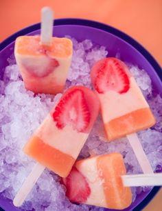 Inventa y crea sabores de helados de frutas para los momentos de más calor.