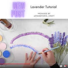 KRISTA MCPHEE PRESENTS A WONDERFULLY PRODUCED VIDEO TUTORIAL FOR CREATING HER LAVENDER CREPE PAPER FLOWERS. WHAT YOU WILL NEED: - LAVENDER (VIOLET) CARTE FINI CREPE PAPER – 180G - LAVENDER (LILAC) CARTE FINI CREPE PAPER – 180 - GREEN (GREEN LEAF) CARTE FINI CREPE PAPER – 180G - ALEENE'S TACKY GLUE - 18-20 GAUGE FLORAL WIRE CUT IN HALF – 9″ - PANPASTEL ULTAMARINE BLUE (OPTIONAL) - SCISSORS Make Money Today, How To Make Money, Crepe Paper Flowers Tutorial, Lilac, Lavender, Paper Peonies, Chocolate Bouquet, Wedding Decorations, Paper Crafts