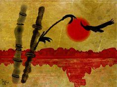 Bamboo and Eagle