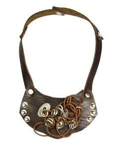 I share with you leather necklace designs.