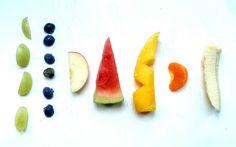 fruit finger food sizes