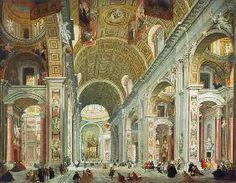 Giovanni Paolo Pannini - Interior of St. Peter's, Rome