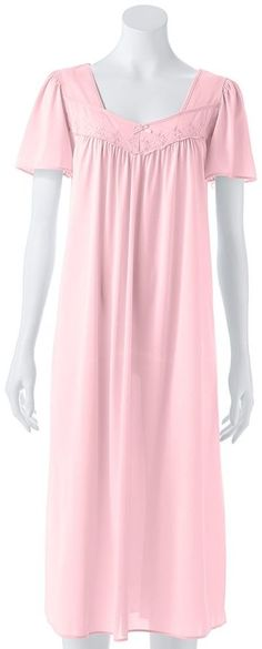 Women's Miss Elaine Essentials Pajamas: Long Tricot Nightgown Plus Dresses, Petite Dresses, Tricot Fabric, Best Leggings, Pajamas Women, Nightgown, Leggings Fashion, Style Me, Essentials