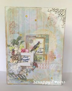 Tutorial how I altered Tim Holtz Configuration Box