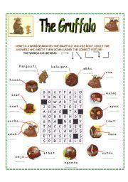 English teaching worksheets: The Gruffalo Gruffalo Activities, Gruffalo Party, The Gruffalo, Book Activities, Storybook Crafts, Gruffalo's Child, Inspired Learning, Reading Worksheets, Book Study