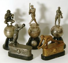 Researching Spalding Trophies - Early references/info sought Sports (Primarily) Vintage Memorabilia Forum incl. Baseball Trophies, Sports Trophies, Baseball Display, Baseball Uniforms, Baseball Art, Sports Toys, Sports Memorabilia Display, Vintage Sports Decor, Baseball Injuries